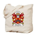 Dawkin Family Crest  Tote Bag