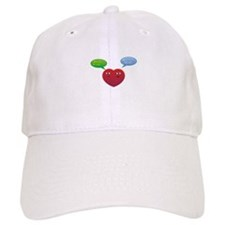 Funny Talking Love Heart Design Baseball Cap