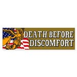 Death Before Discomfort sticker