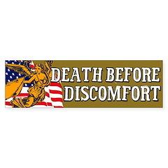 Death Before Discomfort sticker