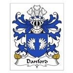 Danford Family Crest Small Poster