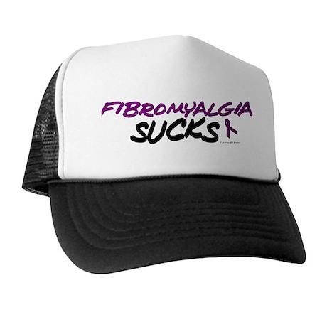 Fibromyalgia Sucks Trucker Hat