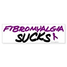Fibromyalgia Sucks Bumper Bumper Sticker