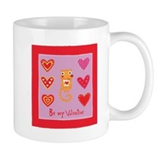 Cute Kitty Cat Valentine Mug