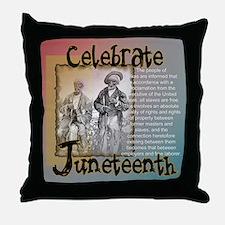 <b>Juneteenth Throw Pillow</b>
