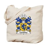 Cynfelyn Family Crest Tote Bag