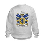 Cynfelyn Family Crest Kids Sweatshirt