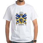 Cynfelyn Family Crest White T-Shirt