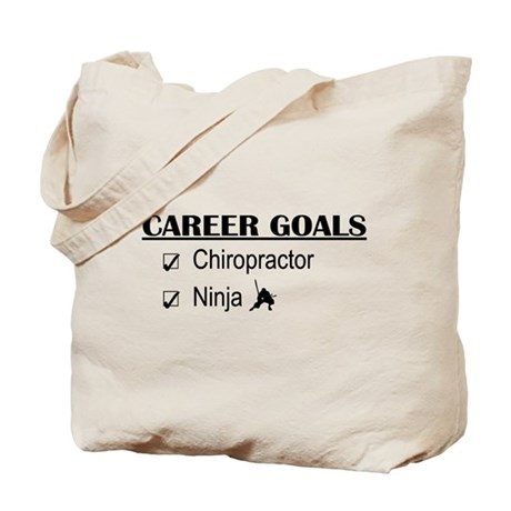 Chiropractor Career Goals Tote Bag