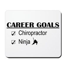 Chiropractor Career Goals Mousepad