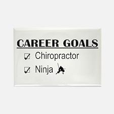 Chiropractor Career Goals Rectangle Magnet