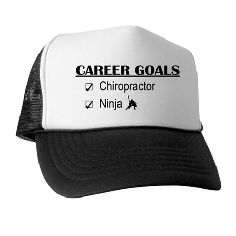 Chiropractor Career Goals Trucker Hat