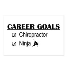 Chiropractor Career Goals Postcards (Package of 8)