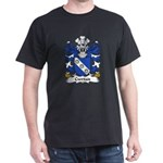 Cwrtais Family Crest Dark T-Shirt