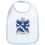 Cwrtais Family Crest Bib