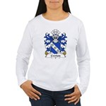 Cwrtais Family Crest Women's Long Sleeve T-Shirt