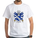 Cwrtais Family Crest White T-Shirt