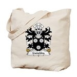 Cunedda Family Crest Tote Bag
