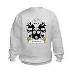 Cunedda Family Crest Kids Sweatshirt