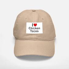 Chicken Tacos Baseball Baseball Cap