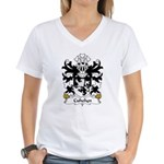 Cuhelyn Family Crest Women's V-Neck T-Shirt