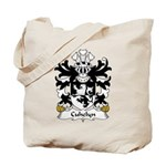 Cuhelyn Family Crest Tote Bag