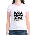 Cuhelyn Family Crest Jr. Ringer T-Shirt