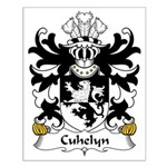 Cuhelyn Family Crest Small Poster