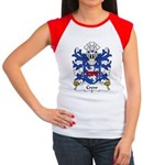 Crew Family Crest Women's Cap Sleeve T-Shirt