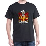 Crevequer Family Crest Dark T-Shirt