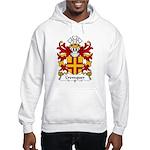 Crevequer Family Crest Hooded Sweatshirt