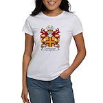 Crevequer Family Crest Women's T-Shirt