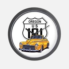 Oregon Classic Car Wall Clock
