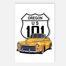 Oregon Classic Car Postcards (Package of 8)