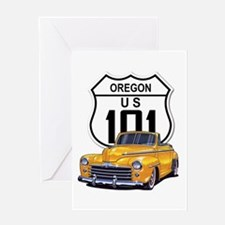 Oregon Classic Car Greeting Card