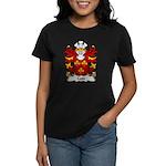 Coxe Family Crest Women's Dark T-Shirt