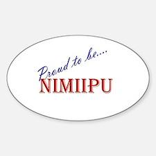 Nimiipu Oval Decal