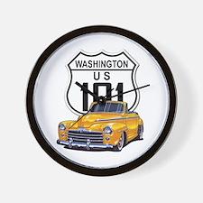 Washington Classic Car Wall Clock