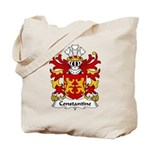 Constantine Family Crest Tote Bag
