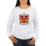 Constantine Family Crest Women's Long Sleeve T-Shi