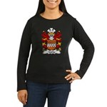 Coety Family Crest Women's Long Sleeve Dark T-Shir