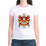 Coety Family Crest Jr. Ringer T-Shirt
