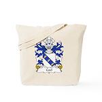 Coel Family Crest Tote Bag