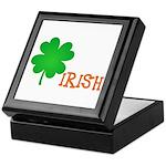 Irish Shamrock Keepsake Box