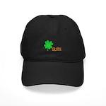 Irish Shamrock Black Cap