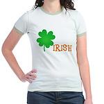 Irish Shamrock Jr. Ringer T-Shirt