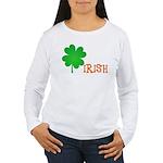 Irish Shamrock Women's Long Sleeve T-Shirt