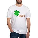 Irish Shamrock Fitted T-Shirt
