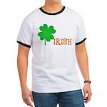 Irish Shamrock Ringer T