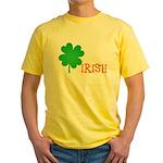 Irish Shamrock Yellow T-Shirt